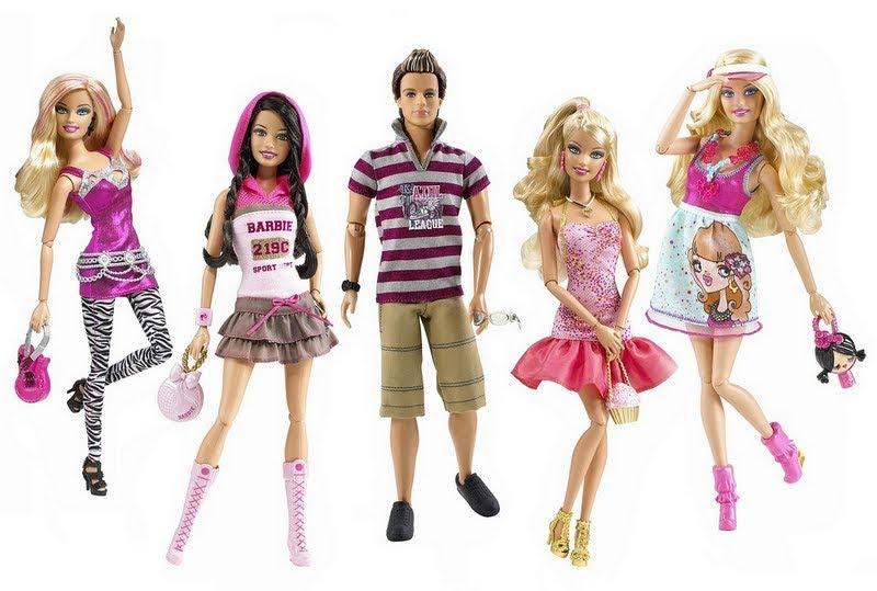 barbie fashionistas photo shoot