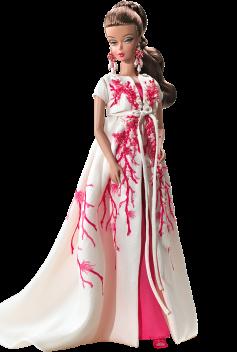 BFMC Palm Beach Coral Barbie Doll | Crédito da imagem: Divulgação Barbie Collector/Mattel