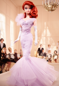 BFMC Lavender Luxe Barbie Doll | Crédito da imagem: Divulgação www.thebarbiecollection.com / Mattel