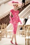 BFMC Fashionably Floral Barbie Doll | Crédito da imagem: Divulgação www.thebarbiecollection.com / Mattel