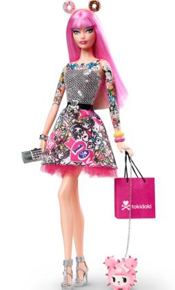 Tokidoki Barbie Doll | Crédito da imagem: Divulgação www.thebarbiecollection.com / Mattel
