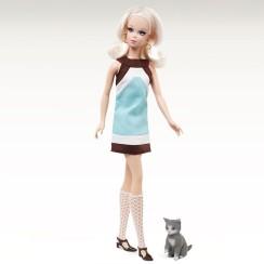 Kitty Corner Francie Doll | Crédito da imagem: divulgação Barbie Collector/Mattel