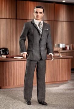 BFMC Mad Men Don Draper | Crédito da imagem: divulgação Barbie Collector/Mattel