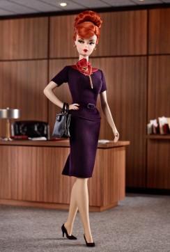 Mad Men Joan Holloway | Crédito da imagem: divulgação Barbie Collector/Mattel