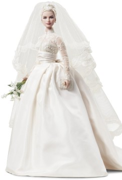 Grace Kelly The Bride Doll | Imagem: Barbie Collector