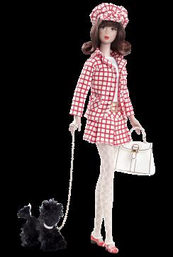 Check, Please!™ Francie Doll | Crédito da imagem: Divulgação Barbie Collector/Mattel