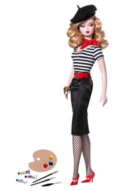 BFMC The Artist Barbie Doll | Crédito da imagem: divulgação Barbie Collector/Mattel