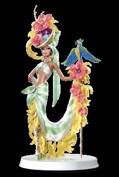 Bob Mackie® Brazilian Banana Bonanza™ Barbie® Doll | Crédito da imagem: divulgação Barbie Collector/Mattel