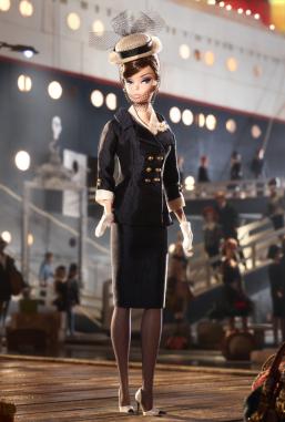 BFMC Boater Ensemble Barbie Doll| Crédito da imagem: divulgação Barbie Collector/Mattel