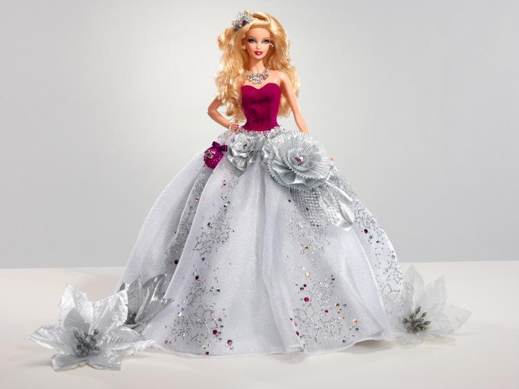 Barbie Holiday Sparkle | Crédito da imagem: Divulgação Mattel via Charitybuzz.com