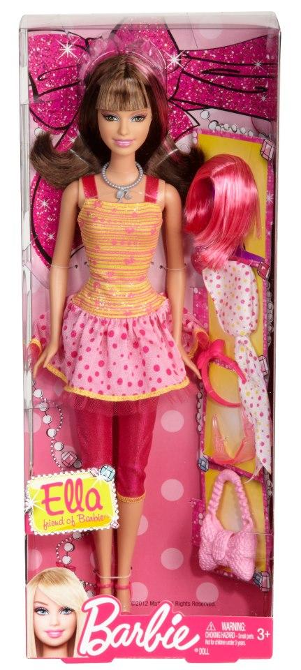 Ella, a amiga [careca] da Barbie | Crédito da imagem: Divulgação Mattel via Beautiful and Bald Barbie/Facebook