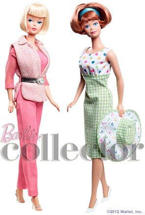 Bill Greening's Barbie & Midge Gift Set and Doll Case | Crédito da imagem: Divulgação Barbie Collector/Mattel via Brock E. - Familyrocks123/Flickr