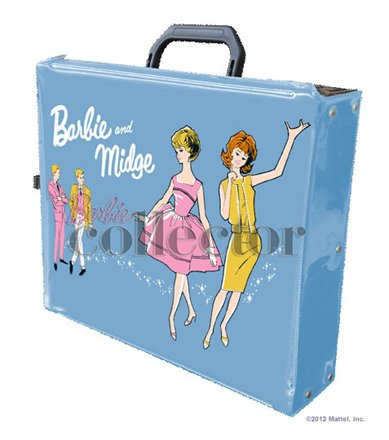 Bill Greening's Barbie & Midge Gift Set and Doll Case | Crédito da imagem: Divulgação Barbie Collector/Mattel via Brock E. - Familyrocks123/Flickr