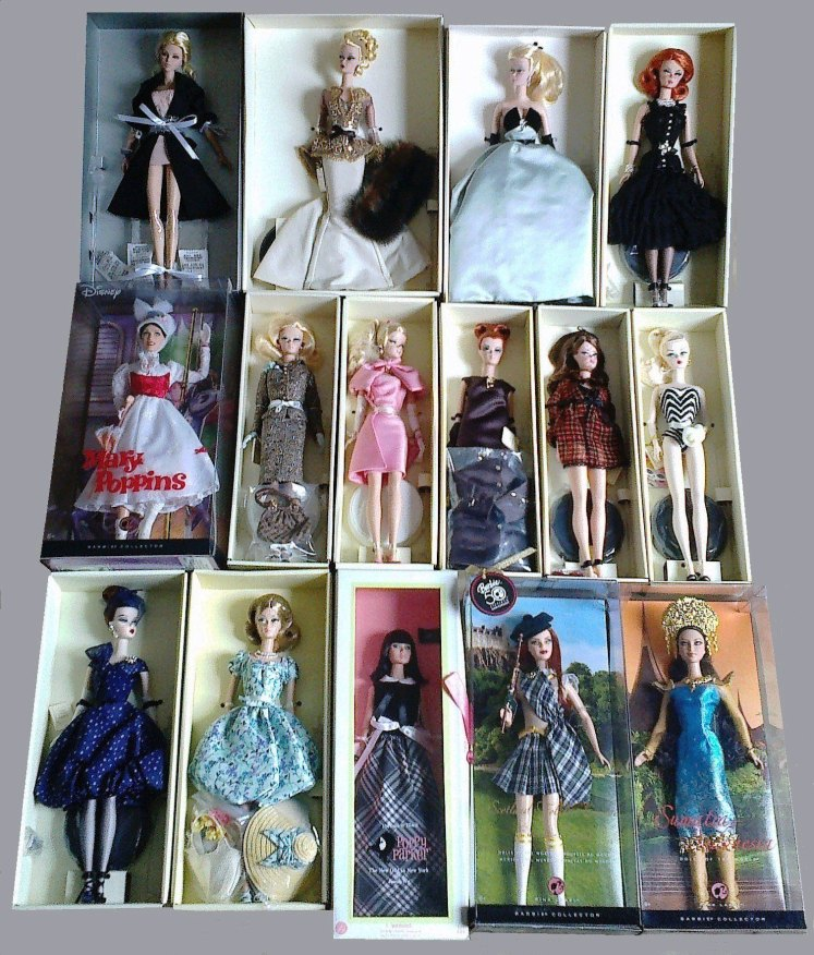 Mais silkstones, bonecas de filme e DOTW | Crédito da imagem: Desirée Veiga | Arquivo pessoal