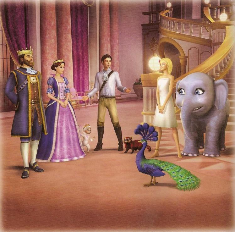 Uma das cenas do filme | Crédito da imagem: Universal Studios, Mattel via fanpop.com