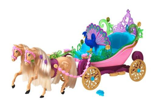 Carruagem | Crédito da imagem: Divulgação Mattel via www.comparestoreprices.co.uk