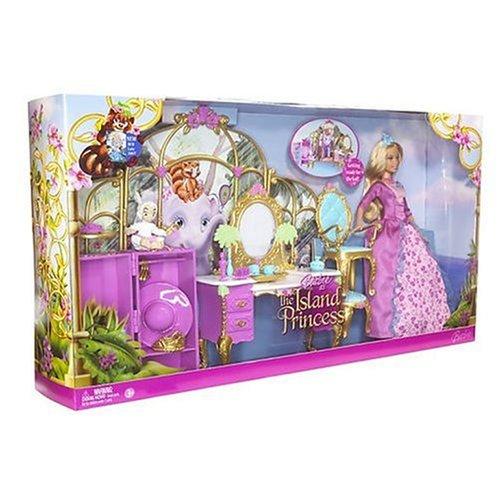 Vanity Set com Princesa Rosella | Crédito da imagem: Divulgação Mattel via www.comparestoreprices.co.uk