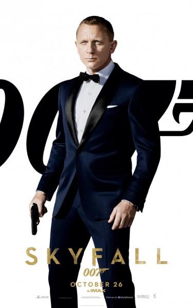 O ator Daniel Craig como o espião James Bond em  - Operação Skyfall | Crédito da imagem: Divulgação Columbia Pictures e Metro-Goldwyn-Mayer via collider.com