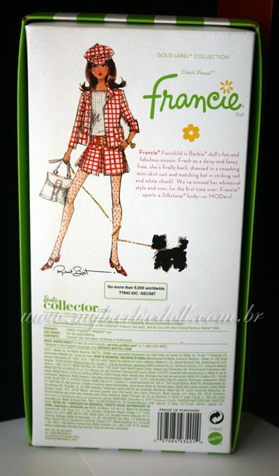 Verso da caixa | Crédito da imagem: Samira | www.mybarbiedoll.com.br