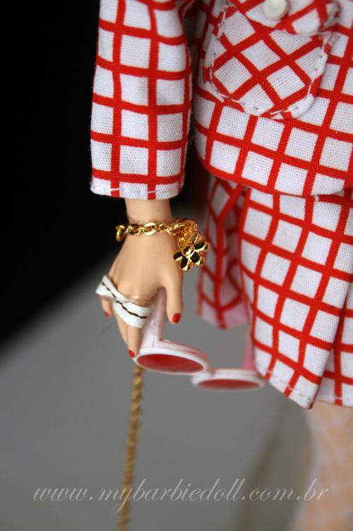 Detalhe da pulseira | Crédito da imagem: Samira | www.mybarbiedoll.com.br
