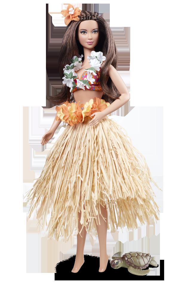 Hawaii U.S.A. Barbie Doll | Crédito da imagem: Divulgação Barbie Collector/Mattel
