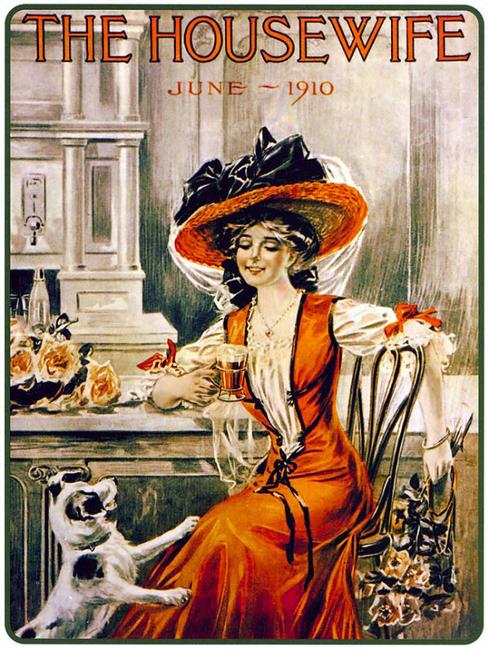 Exemplo de publicidade divulgada na primeira década do século XX | Crédito da imagem: Divulgação Coca-Cola via laphamsquarterly.org