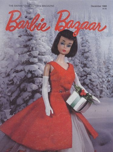 Barbie Bazaar de dezembro de 1988 | Crédito da imagem: Merry/Pinterest