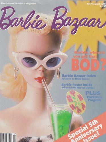 Barbie Bazaar de julho/agosto de 1993 | Crédito da imagem: Merry/Pinterest