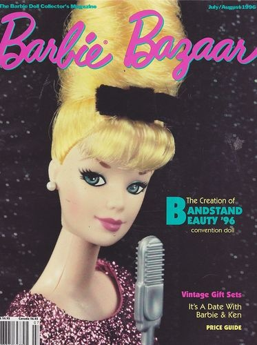 Barbie Bazaar de julho/agosto de 1996 | Crédito da imagem: Merry/Pinterest