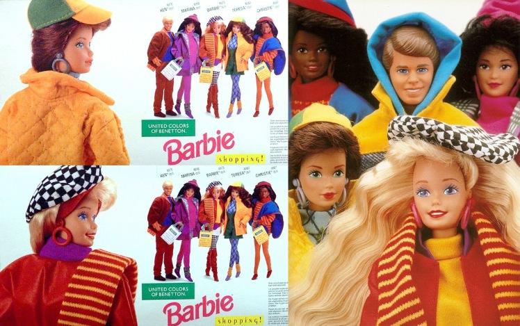 Segunda série lançada na década de 1990 | Crédito da imagem: Divulgação via pamifashiondolls.blogspot.com