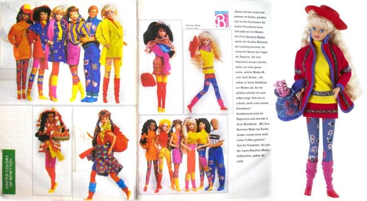 Primeira série lançada na década de 1990 | Crédito da imagem: Divulgação via pamifashiondolls.blogspot.com