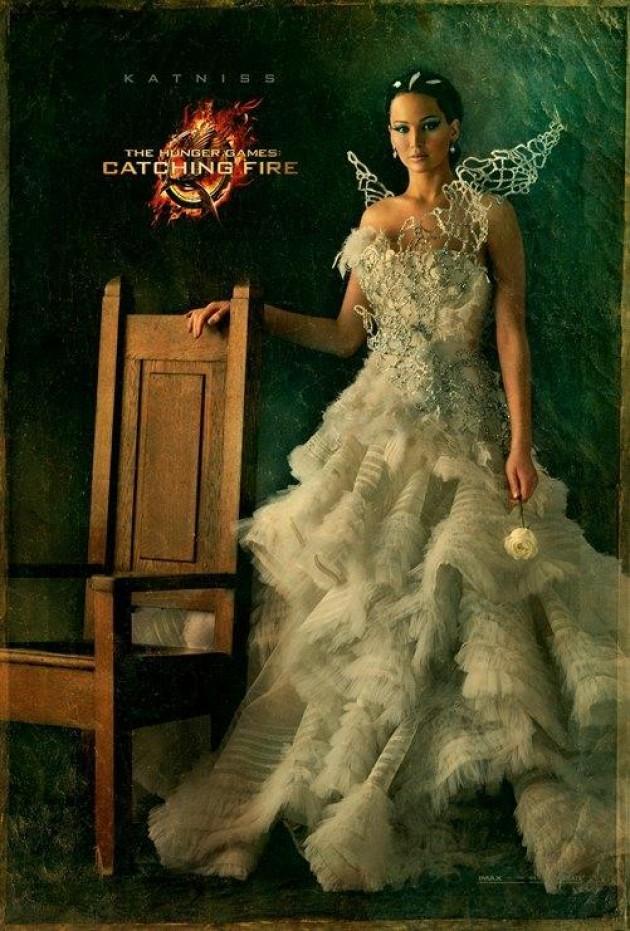 Katniss | Crédito da imagem: Divulgação Lions Gate Entertainment via papelpop.com