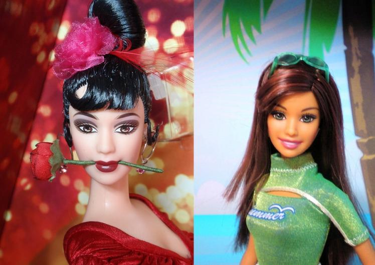 Crédito das imagens: da esquerda para a direita - Stanislav Valeriev stanislav1103/Flickr e Cali Girl/www.forum.dollplanet.ru