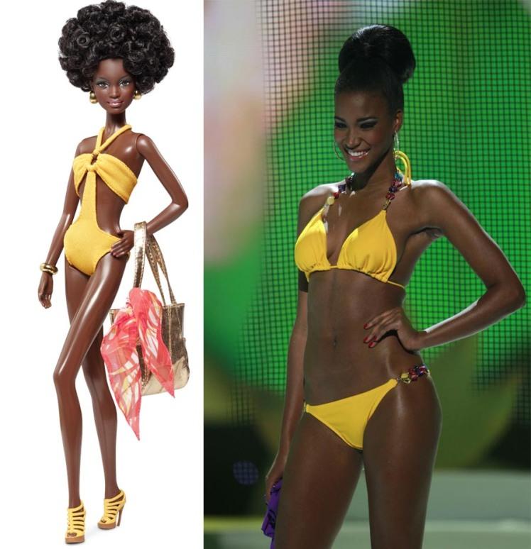 Créditos das imagens: Divulgação Barbie Collector/Mattel |  Leila via screen-celebs.blogspot.com
