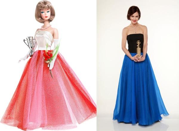 Créditos das imagens: Divulgação Barbie Collector/Mattel |  Elizabeth via www.fanforum.com
