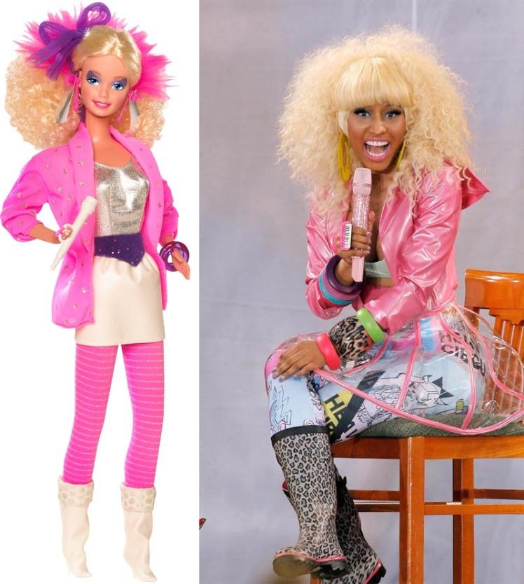 Créditos das imagens: Divulgação Barbie Collector/Mattel | Nicki via http://dontskip.com