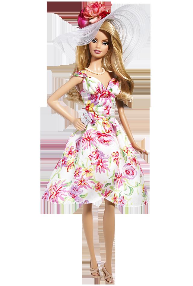Kentucky Derby Barbie Doll, de 2009 | Crédito da imagem: divulgação Barbie Collector/Mattel