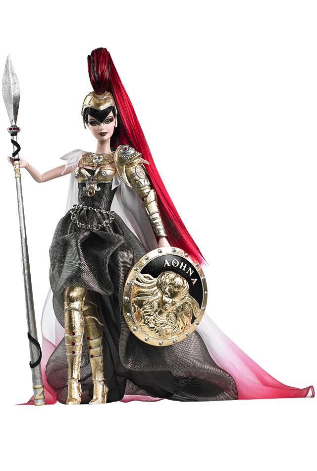 Barbie Doll as Athena, de 2010 | Crédito da imagem: divulgação Barbie Collector/Mattel