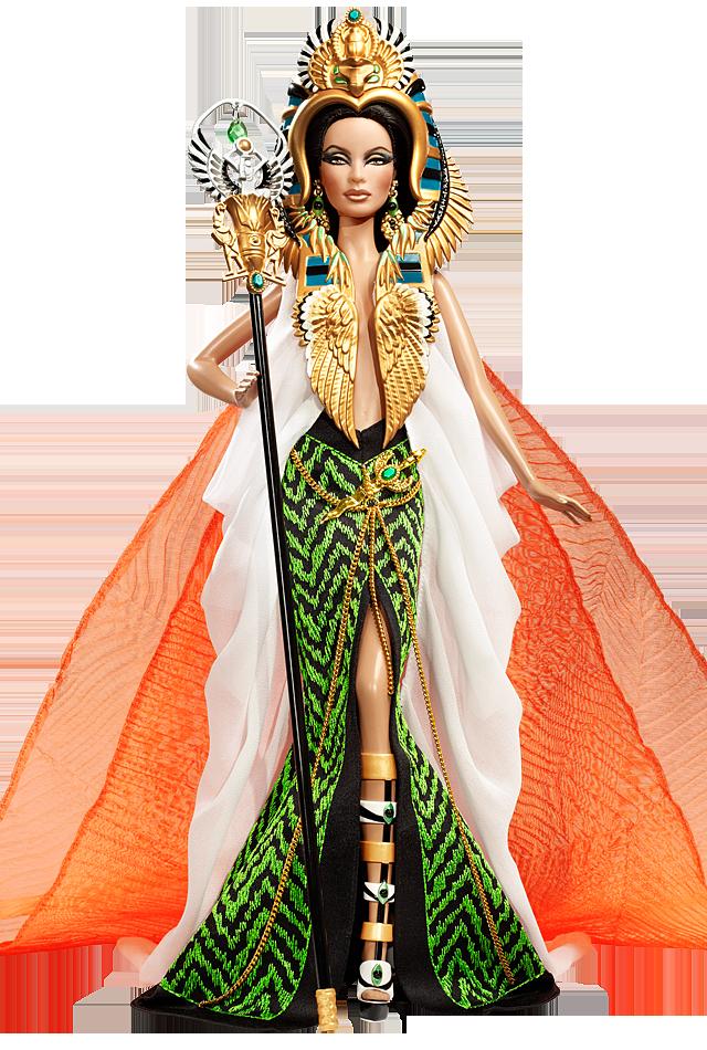 Barbie Doll as Cleopatra, de 2010 | Crédito da imagem: divulgação Barbie Collector/Mattel