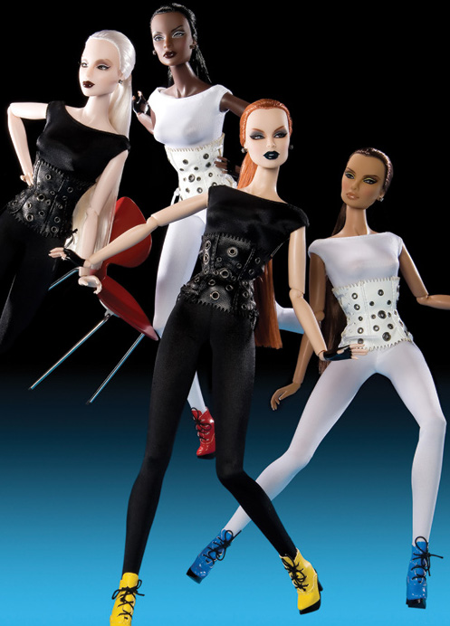 Bonecas da marca Fashion Royalty lançadas em 2009 |  Crédito da imagem: divulgação Integrity Toys