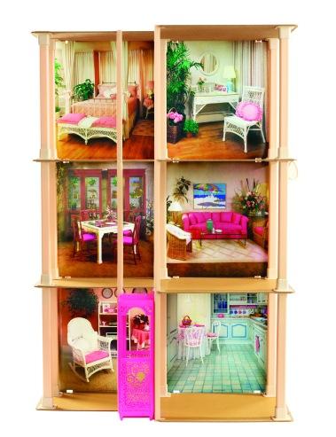 1983 Barbie Townhouse | Crédito da imagem: divulgação barbiemedia.com