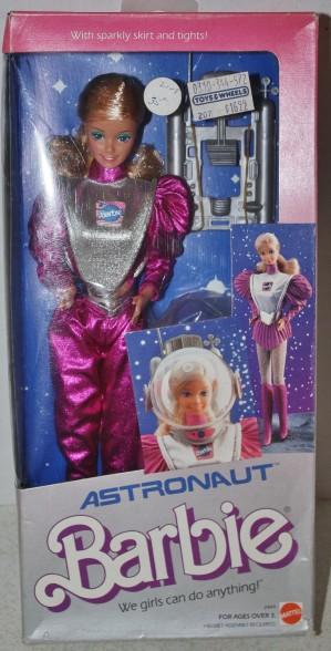 1985 Astronaut Barbie | Crédito da imagem: davidvball/eBay
