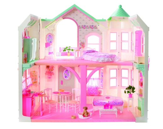 1998 Barbie Deluxe Dream House | Crédito da imagem: divulgação barbiemedia.com
