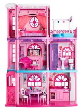 2012 Barbie Dreamhouse | Crédito da imagem: divulgação barbiemedia.com