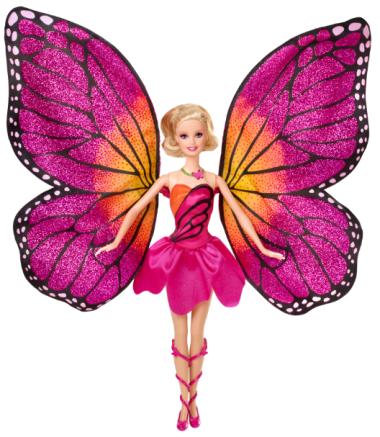 Barbie Butterfly | Crédito da imagem: divulgação Mattel