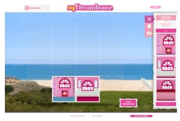 Crédito da imagem: reprodução www.barbie.com/my-dreamhouse