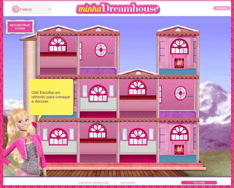 Crédito da imagem: reprodução br.barbie.com/my-dreamhouse