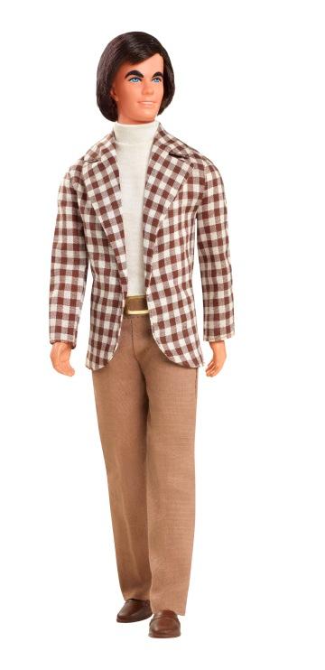 Primeiro Ken com cabelos enraizados | Crédito da imagem: divulgação Mattel | Fotógrafo: Paul Jordan