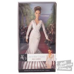 Jennifer Lopez Red Carpet Doll | Crédito da imagem: divulgação www.dollcollector.com.br