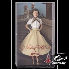 Audrey Hepburn in Roman Holiday | Crédito da imagem: divulgação www.dollcollector.com.br